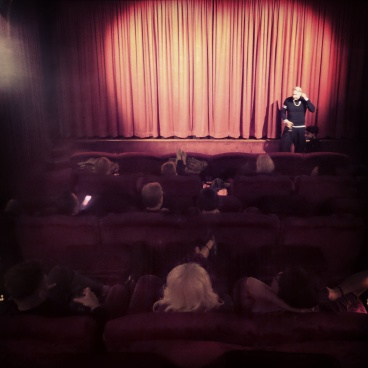 At Soho House private cinema